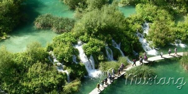 Плитвицькі озера в Хорватії - справжнє чудо природи
